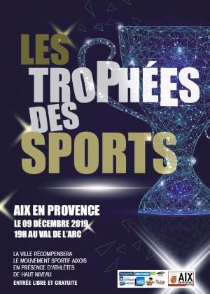 Affiche Trophées des Spots Aix en Provence