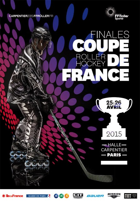 affiche finale coupe france roller hockey 2015